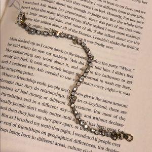 Sorrelli Pearl Luster Petite Line Bracelet